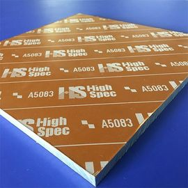 High Precision Cast Aluminum Plate ACP 5080 Aluminum Sheet 5083 Ultra Smooth Surface