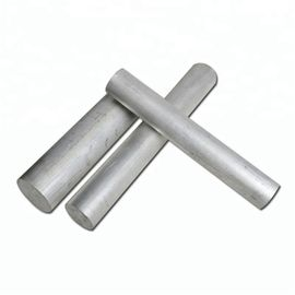 Custom Length Aluminum Round Bar Alloy Type High Strength 6061 SGS Certification